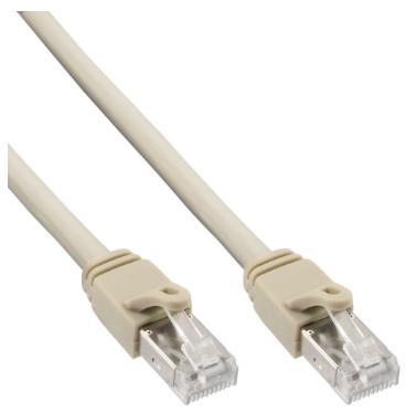 Cavo Rete Lan, S/FTP (PiMf), Cat.6 Certificato, 250Mhz, grigio, 30m, Patch Ether