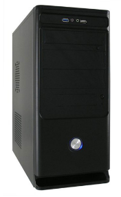 Case ATX Air duct Nero + LC420H V1.3 420W