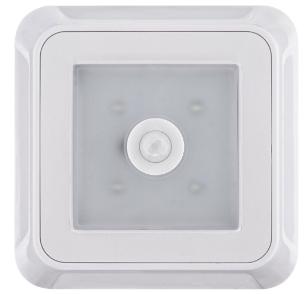 Müller-Licht Lampada LED con sensore muovimento bianca alimentazione a batterie