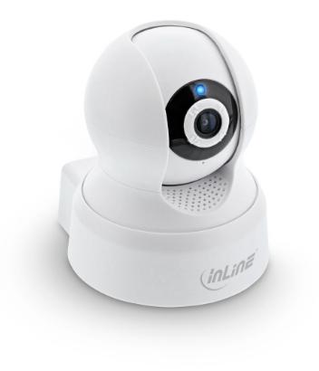 Telecamera SmartHome all'interno, HD, rilevamento movimento, panoramica / inclin