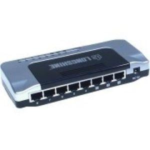 Longshine Switch 10/100Mbit 8 Porte, QoS, Loop detection, LCS-FS6108-C, Desktop