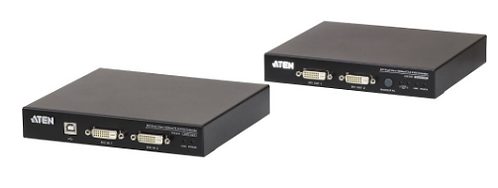 ATEN CE624, Estensore KVM USB DVI Dual View HDBaseT™ 2.0 (1920 x 1200 a 100 m)