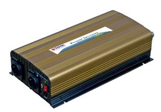 Inverter universale per Auto, Camper, In 24V/DC, Out 230V/AC, 1000W, USB 5V, Tit