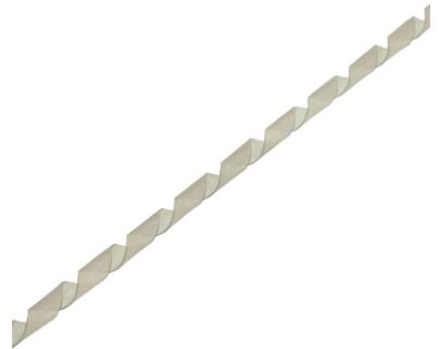 Spirale protezione cavi, diametro 8mm, flessibile, Trasparente, 10m