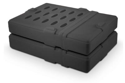"""HDD Protecting Sleeve custodia di protezione per dischi fissi da 3.5"""", connettor"""