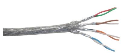 Cavo LAN Cat.6, S/FTP (PIMF), 4x2xAWG 26/7 (flessibile), CU (100% rame), guaina