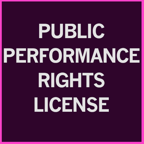 Public Performance License