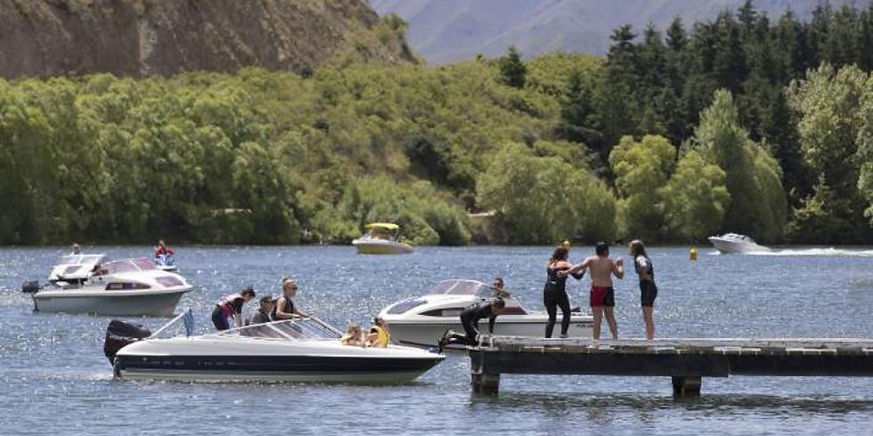 Boat Poker Run - Lake Benmore