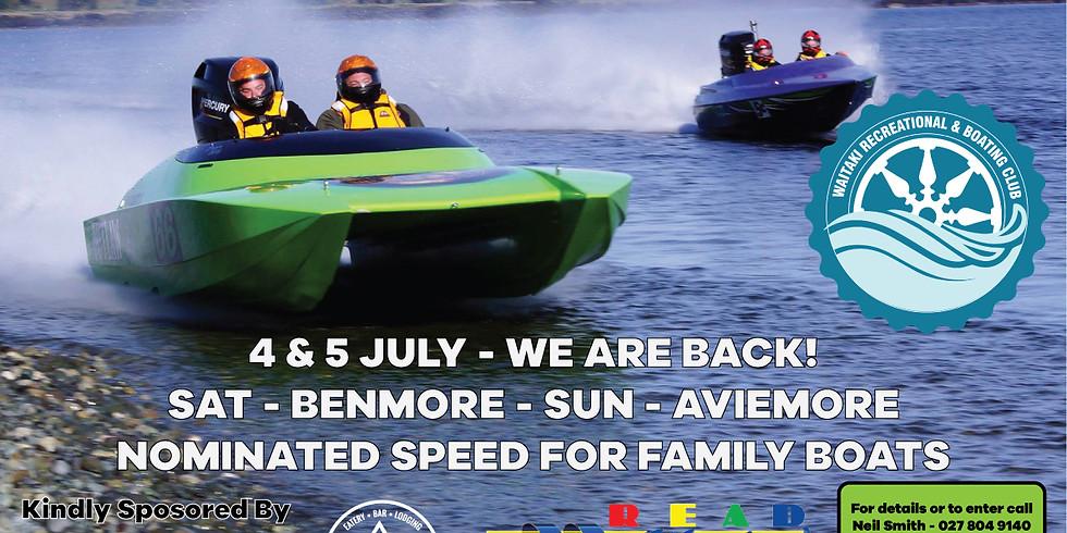 5th Annual Twin Lakes Boat Marathon Race