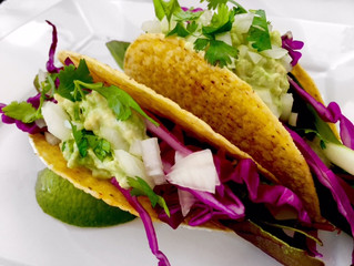 Sweet and Sour Veggie Tacos