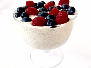 Chia Seed Lemon Pudding