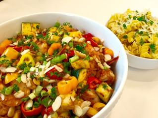 Autumn Squash with Quinoa Noodles