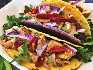 Delicious Gluten Free Chicken Tacos