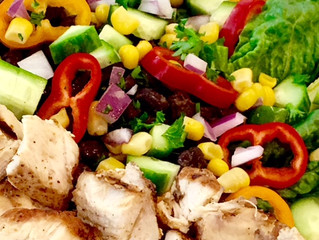 Mexican Style Chicken with Spicy Sauerkraut Side
