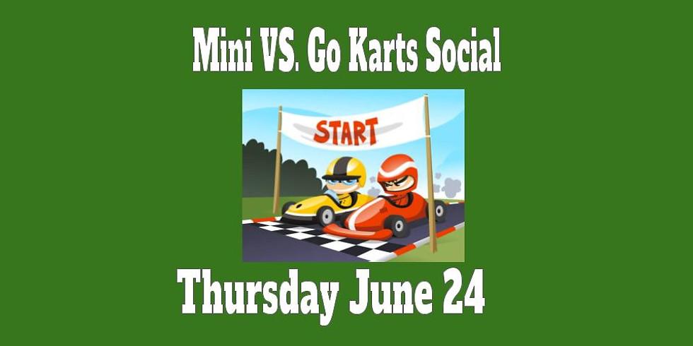 Mini vs Go Kart Social