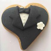 Biscoito decorado - Casamento Suelen e A