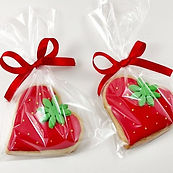 Biscoitos decorados muito fofo🍓
