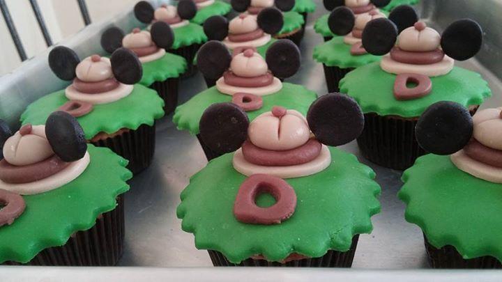 Encomenda realizada__Cupcake com recheio