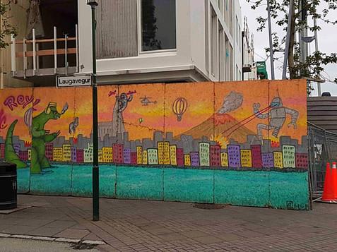 אמנות רחוב ברייקיאוויק