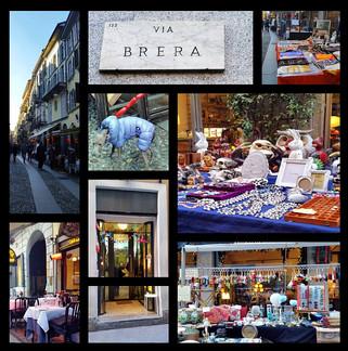 כמה מקומות במילאנו