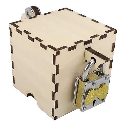 Schlüsselbox mit Trickschloss - Outlet