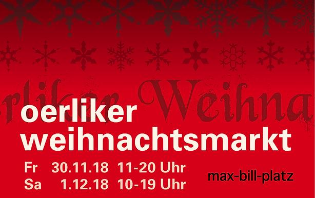 Flyer Oerliker Weihnachtsmarkt 2018 vs2.