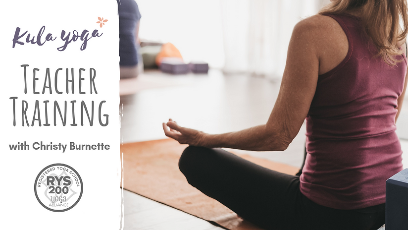 yoga teacher training, ytt, 200 ytt, christy burnette, yoga therapy, yoga training