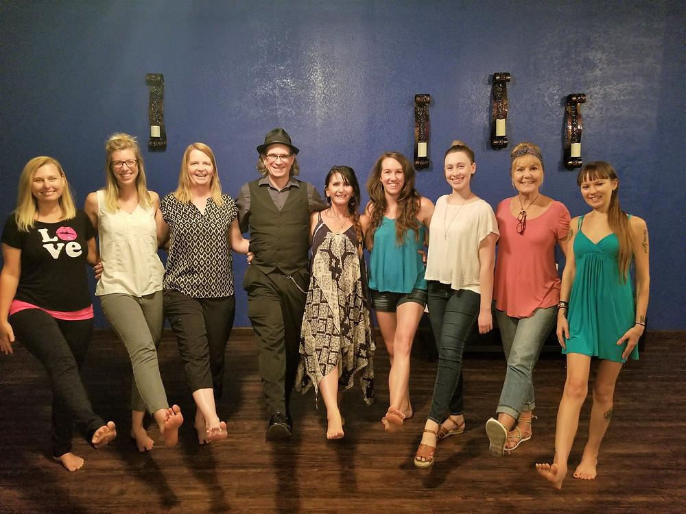Some of our fab Kula yoga teachers