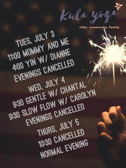 Fireworks and freedom week!