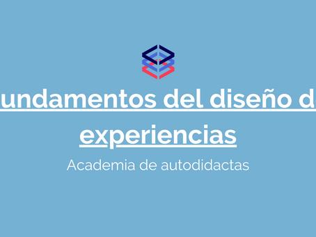 Fundamentos del diseño de experiencias