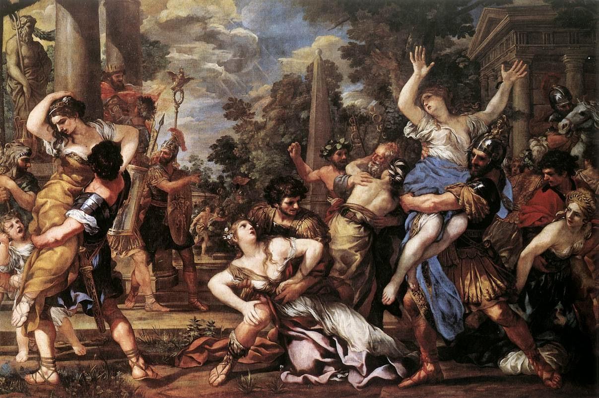 Il ratto delle donne Sabine - Pietro Da Cortona (1596-1669)