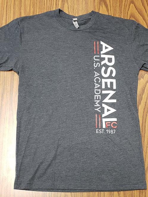 Item# 51 Adult & Youth Dark Gray T-Shirt (US Academy)
