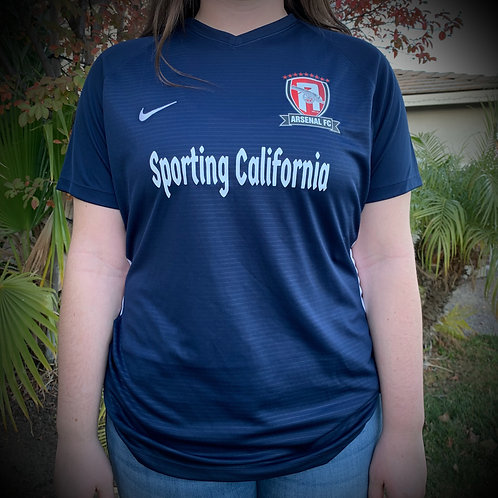 IN STOCK OFFLINE ONLY Sporting CA/Arsenal Navy Game Jersey ($35)