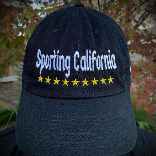IN STOCK OFFLINE ONLY Sporting CA/Arsenal Black Strap Back Hat ($22)