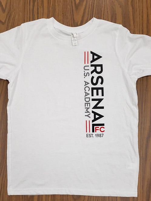 Item# 5 White T-Shirt Adult & Youth (US Academy)