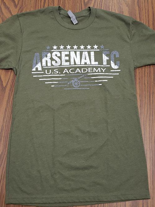 Item# 23(A) Army Green T-Shirt (Arsenal FC)