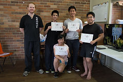 Power Within Wing Chun Final Grading Awards for 2014