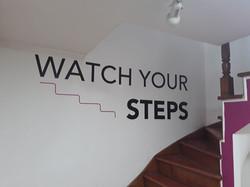watch ypur steps