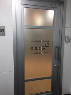puertas empavonadas