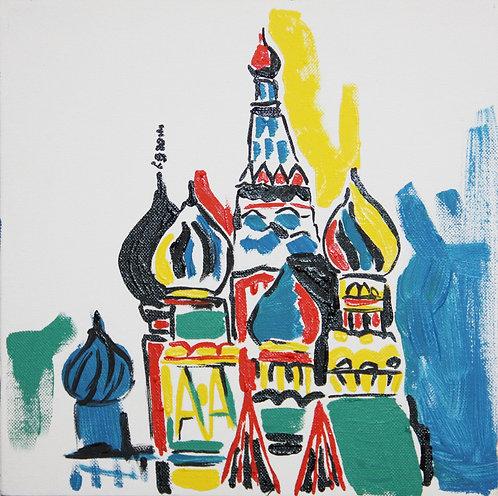 Москва (холст, масло)