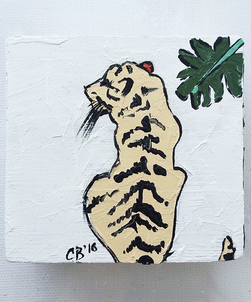 Джунгли (масло, дерево)