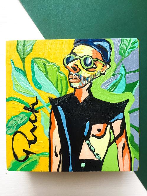 Портреты мужчин (масло, дерево) Большой ассоритмент
