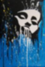 экспрессия живопись брызги