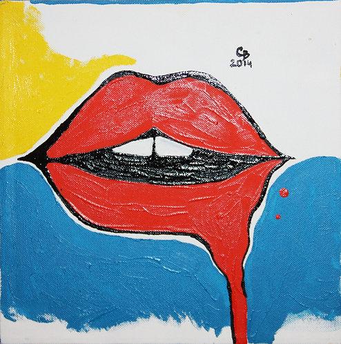 Поцелуй (холст, масло)
