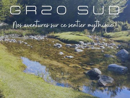 GR20 SUD - nos aventures sur ce sentier mythique