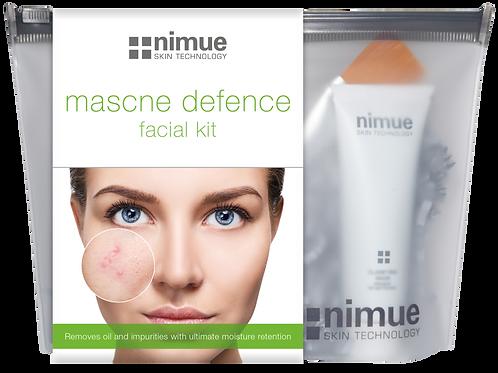 "nimue ""Mascne Defence"" facial kit"