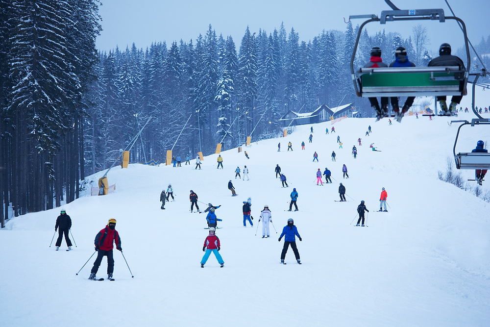 People are opting to ski instead of watch the Super Bowl this year.
