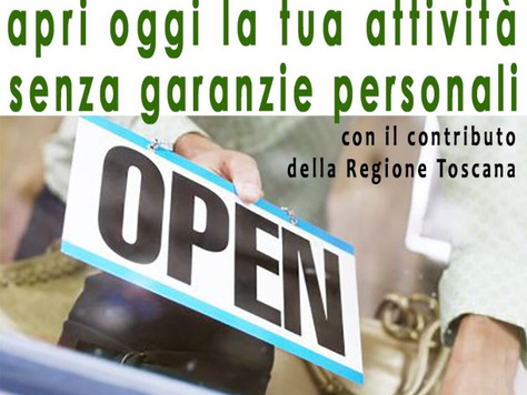 Toscana. Microcredito per start up e nuove imprese