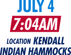 July 4 at 7:04AM Location Kendall Indian Hammocks