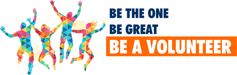 Be one. Be great. Be a volunteer.